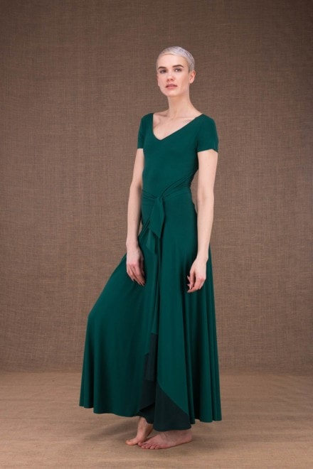 Blizzair long skirt in viscose knit - 1