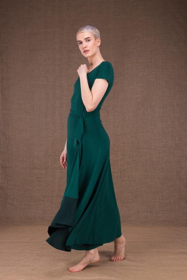 Blizzair long skirt in viscose knit - 2