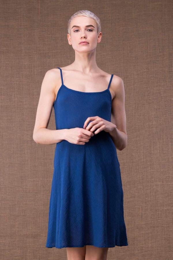 Miami Blue short cotton dress-1
