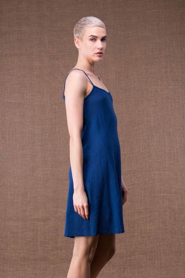 Miami Blue short cotton dress-3