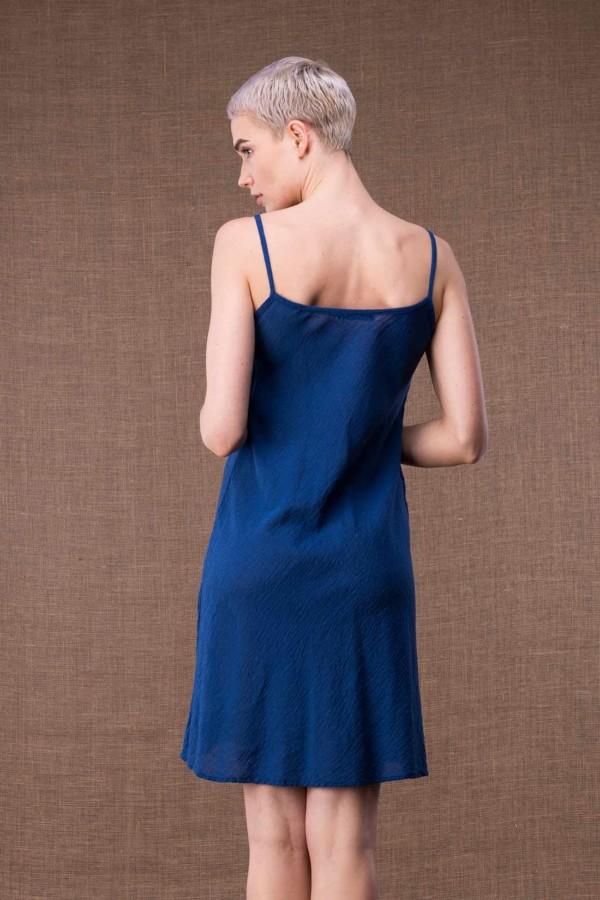 Miami Blue short cotton dress-4