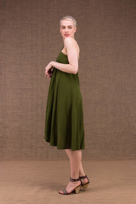 Arial khaki cotton dress - 2