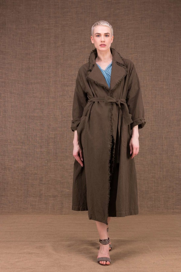 Bogart Cotton Trench Coat Nutty - 2