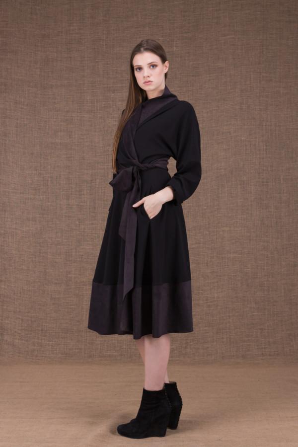 Lauren black wrap dress - 1