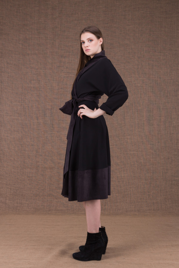 Lauren black wrap dress - 3