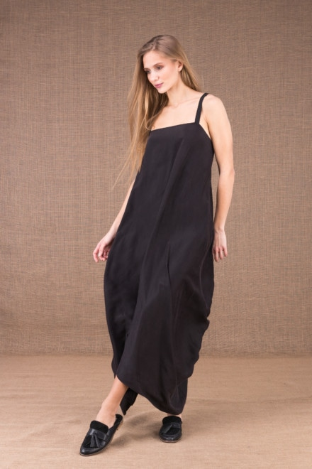 long backless silk satin dress 1