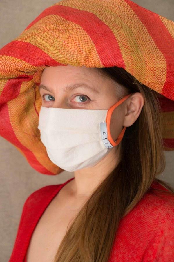 ABRICOT Masque de protection en coton bio 2