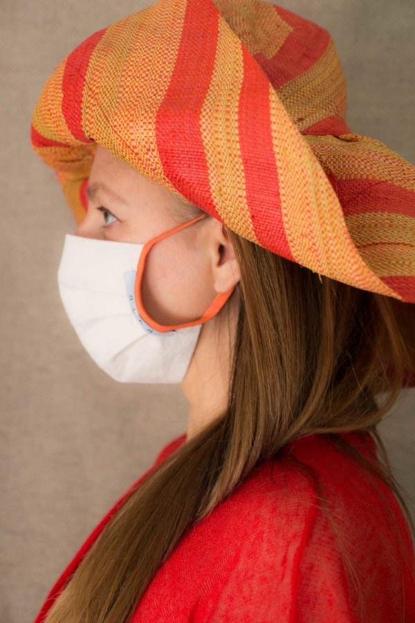 ABRICOT Masque de protection en coton bio 3
