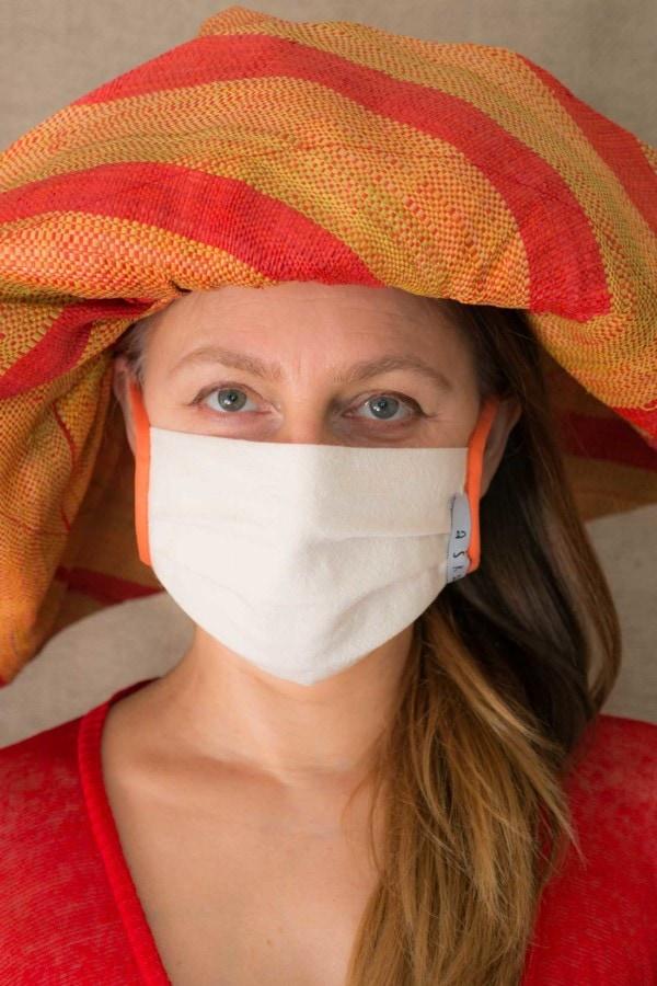 ABRICOT Masque de protection en coton bio 1