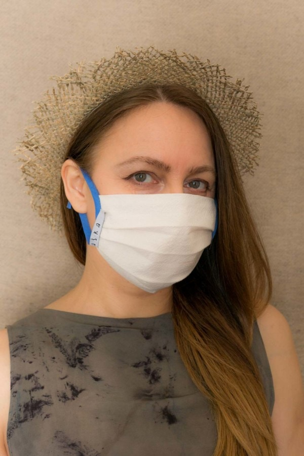BLUE SKY Protective mask in organic cotton - 1