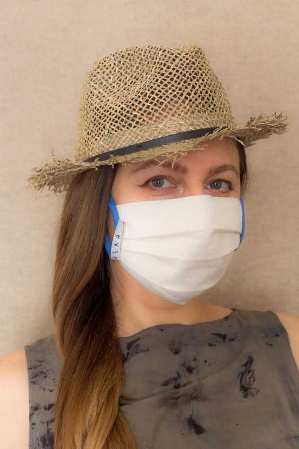 BLUE SKY Protective mask in organic cotton - 2