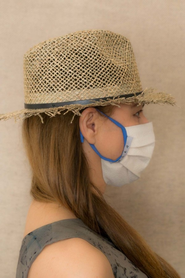BLUE SKY Protective mask in organic cotton - 3
