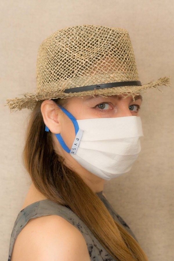 BLUE SKY Protective mask in organic cotton - 4